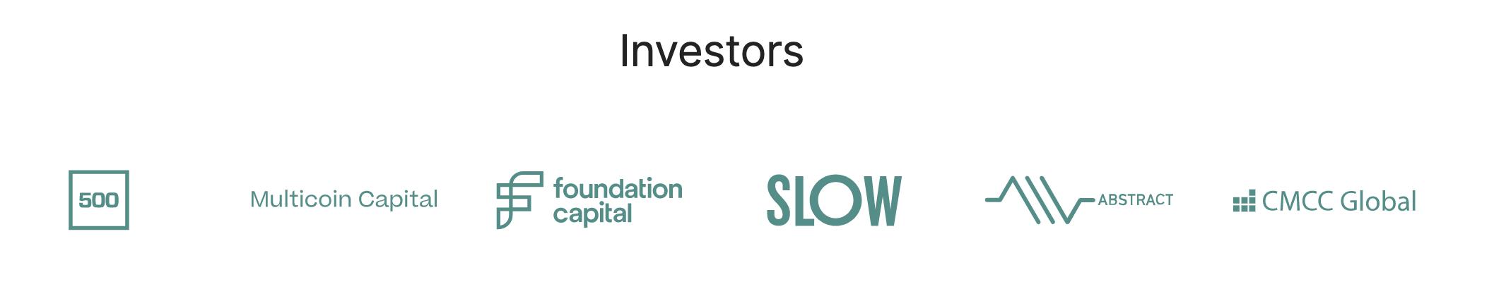 Solana's (SOL) investors
