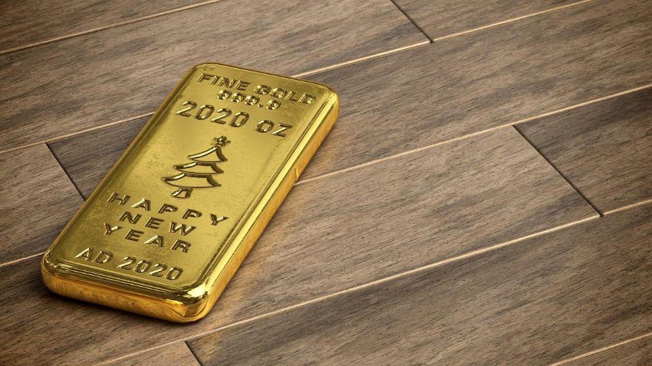 Gold Goldbarren