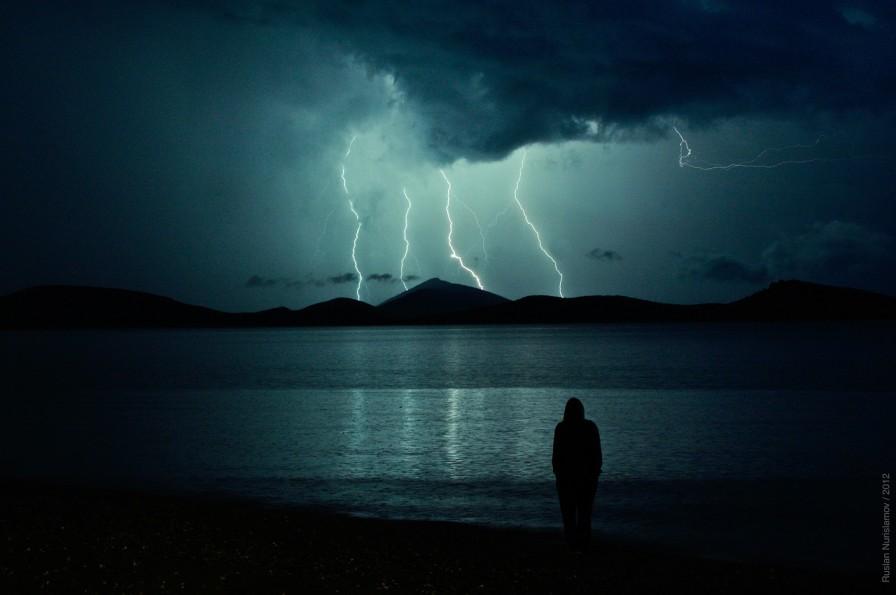 Lightning Naturspektakel