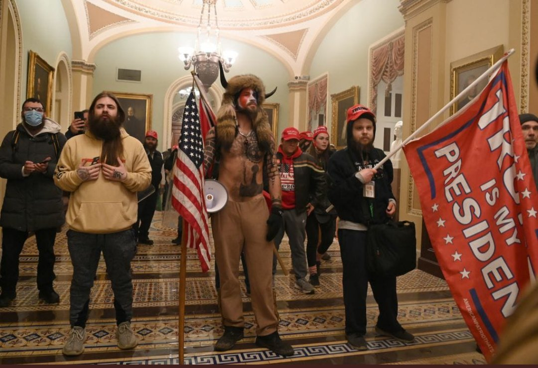 Protesters broke into the US Capitol and supporting Trump