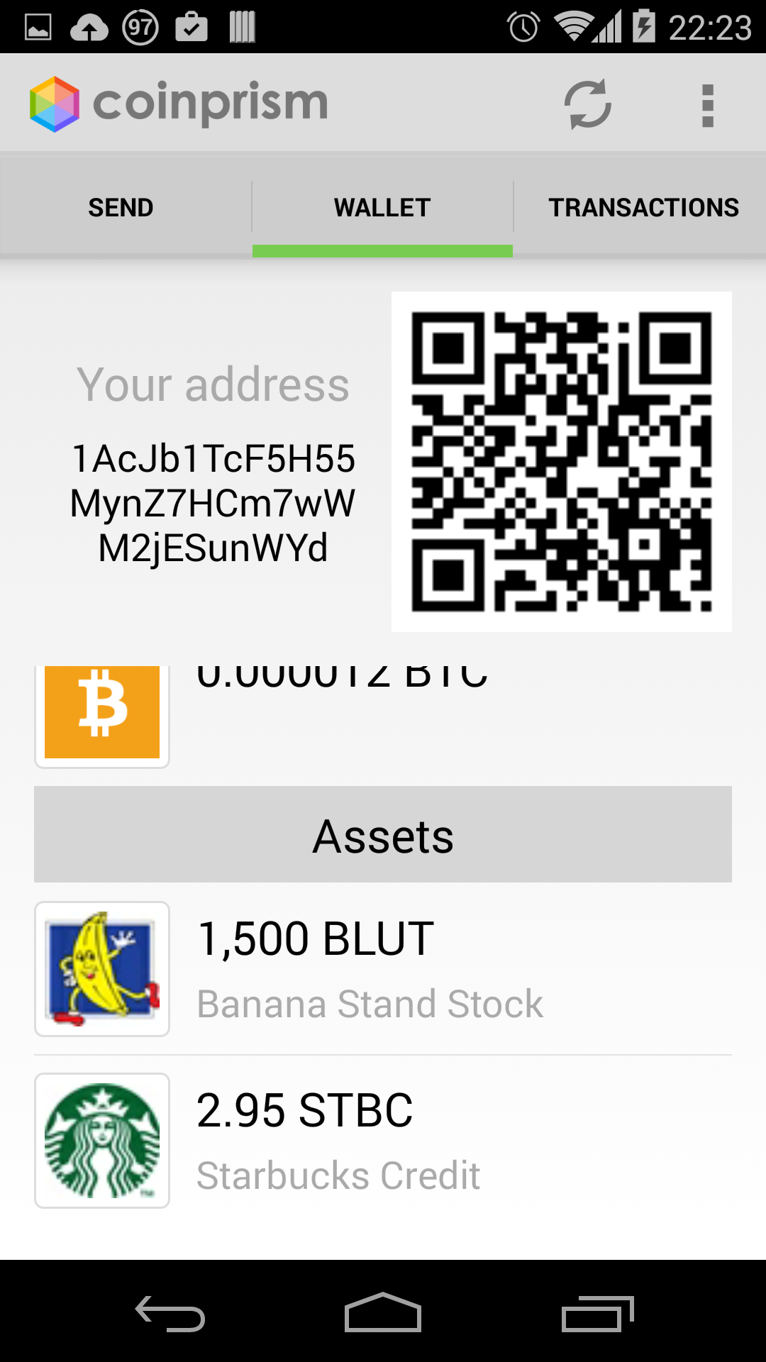 Colored Bitcoins CoinPrism