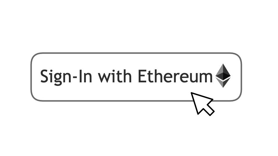 sign in with ethereum web3 single login