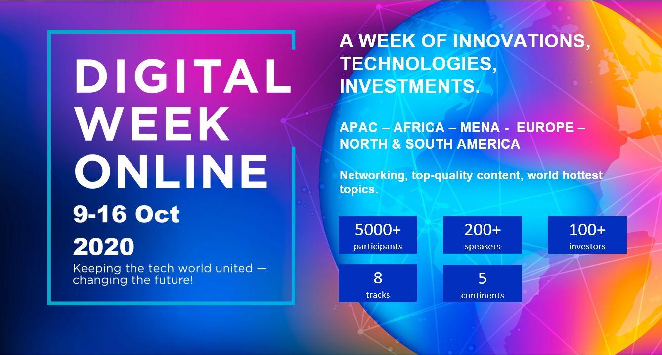 Digital Week Online: What it offers