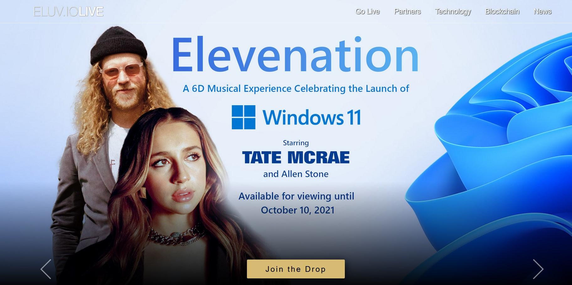 Microsoft Windows 11 Launch Event